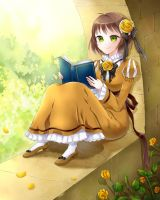 Reading by nao148
