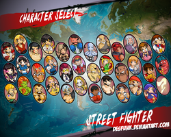 Super Street Fighter IV SELECT by desfunk
