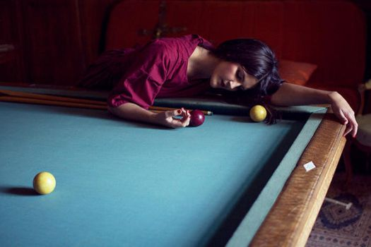 billard. by moumine