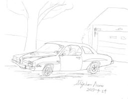What if cars: Pontiac LeMans 1976 2.0 by stephdumas