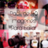 Pack De 40 Imagenes Para Editar by IWannaFeelTheSky