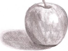 Feeling Hungry?  Have an apple by Schizoepileptic