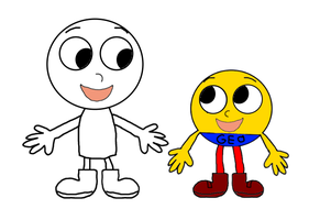 Geo and Geo Guy RG Style by MamonFighter761