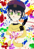 Colorful Splatter by aikaaa