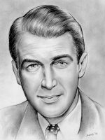 Jimmy Stewart - No. 2 Pencil by gregchapin
