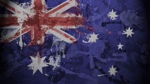 Australian Flag Wallpaper by GaryckArntzen