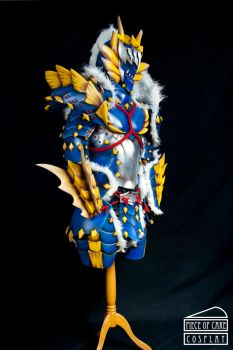 Zinogre Armor Monster Hunter sx by Dewbunch