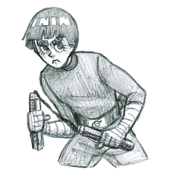 Rock Lee by theanimemaster2