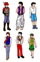 Modern Disney Boy Fashion by CaptBeans