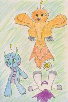 Creature Capers: Surprise by theseadragon