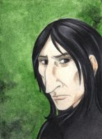 Snape ACEO by acatnamedeaster
