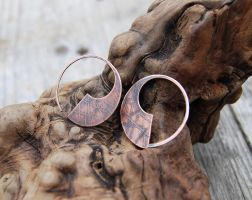 Small Sabre Series in Copper by DreamingDragonDesign