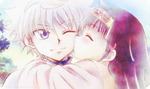 Killua And Alluka - 2v by Cathy-sensei