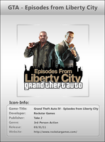 GTA Episodes from LC - Icon by Crussong
