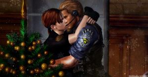 Christmas Kiss by WolfShadow14081990