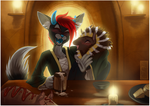 shorty on a Date - Orkekum Commission by shorty-antics-27