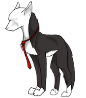 Slender Wolf Chatlands Pose NOT FREE by Azaizael