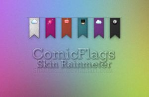 ComicFlags.RainmeterSkin by coral-m