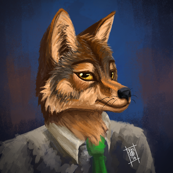 Coyote Paint by 123mine123