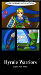 Hyrule Warriors: Trippy Scarf by Lethalityrush