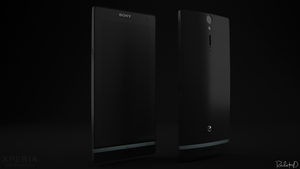 Sony Xperia S - render 1 by RatchetHD