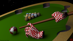 Devil's Pool Table by stardust4ever