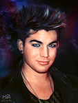 Adam Lambert by lucasthefierce