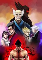 Mishima Clan by julitka