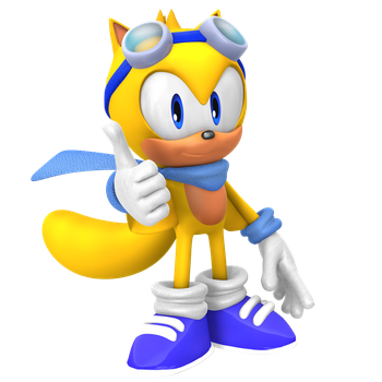 New Ray the Flying Squirrel Alt Outfit Render! by Nibroc-Rock