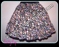 Pretty Pop lolita skirt by The-Cute-Storm