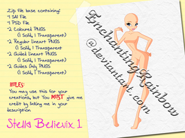 Stella Believix 1 - Paid Base Pack by EnchantingRainbow