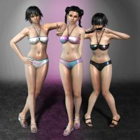 Dead Or Alive 5 Pai Chan Hotties by ArmachamCorp