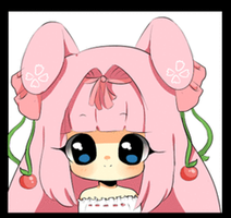 Chibi Headshot Commission: Cherriitea by MechanicMocha