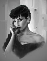 Audrey by fantasio