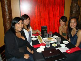 The Girls at Nozomi by stephuhnoids