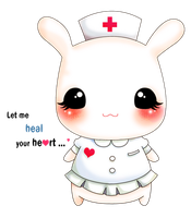 Cute bunny nurse needs a name by tho-be