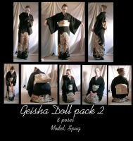 Geisha Doll pack 2 by Nekoha-stock