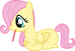 Filly Fluttershy Draws by piranhaplant1