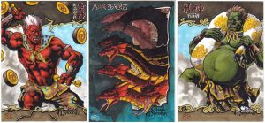 Classic Mythology Sketch Cards S3 by JesterretseJ