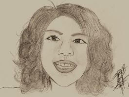 Sketch of MAH FACE by xXTheLightXx