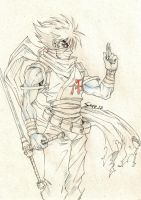 Strider Hiryu - Sketch by Sano-BR