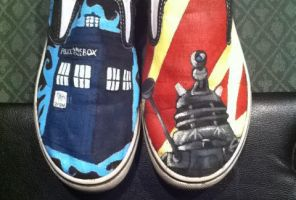Doctor Who Shoes by mnb73