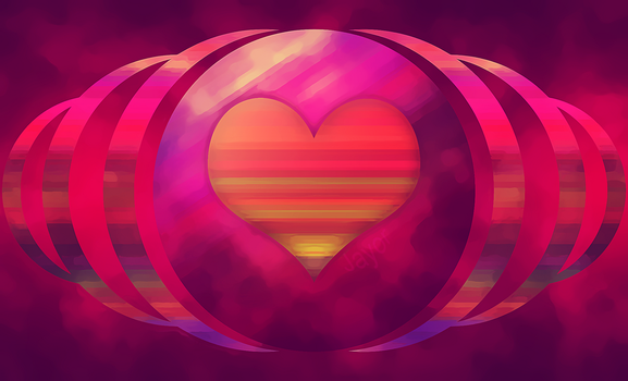 Heart Of Abstract by JAYOR