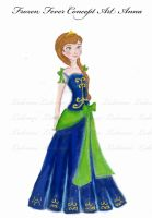 Concept Anna Frozen Fever by lulemee