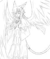 .::Alto Angel Lineart::. by Sasuke323