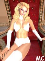 Emma Frost Is Sexy by The-Mind-Controller