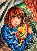 Nausicaa of the Valley of the Wind by RetkiKosmos