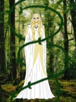 Galadriel, Lady of Light by AmayaKouryuu