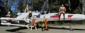 Rogue Squadron by toyphototaker