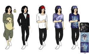Steven Clothing Ref 2 by TranslucentRainbow